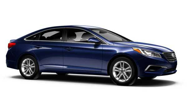 A blue Hyundai Sonata Sport. A Diminished Value Appraiser in Chicago, Illinois call 772-359-4300.
